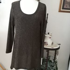 Grace Elements Metallic Tunic